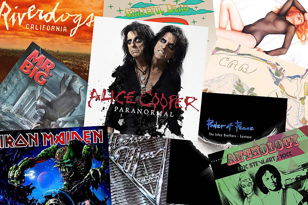 new rock music releases