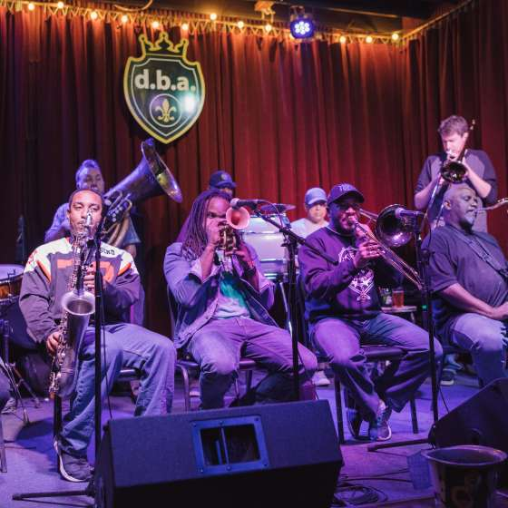 live music new orleans june 2018