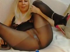 pantyhose squirt tube